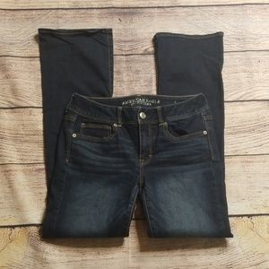American Eagle Outfitters 8 R kick boot jeans